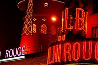 Moulin Rouge, Paris. France