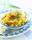 Tagliatelli with cabbage