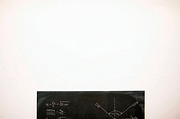 Mathematics on a blackboard