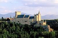 Alcázar, Segovia. Castilla-León, Spain