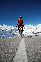 Alps, Austria, Europe, bicycle, bike, Bike, no exclusivity possible, Grossglockner Hochalpenstrasse, high alpine roa