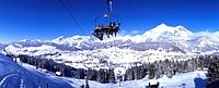 Alpstein, canton St. Gallen, Carving, castle, Chur, elevator, house, mountain, mountains, railway, ridges, ski, Ski,