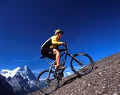 adventure, Canton Bern, Bernese Oberland, bicycle, bicycles, big, bike, canton, drive, Eiger, Mannlichen, Monch, mou
