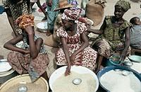 Korhogo, capital of Senufo Country. Côte d´Ivoire.