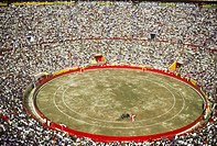 The Plaza Mexico in Mexico City, the world´s largest bullfighting ring.