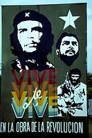 Revolutionary mural in Pinar del Rio, Cuba.