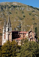 Covadonga Basilica. Spain