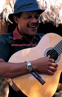 cuba, musician playing guitar