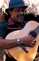 cuba, musician playing guitar