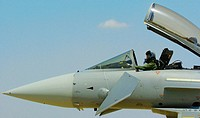 Spanish Eurofighter Typhoon aircraft (may, 2005)