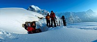10654725, alpine, Alps, mountains, Bernese Oberland, chalet, ridge, Grindelwald, group, hut, canton Bern, snow, snow shoes, sn