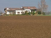 Agriculture, broke, farmhouse, field, fields, home, house, Switzerland, Europe,