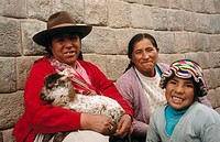 Quechua women, Cusco. Peru