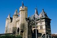Het Steen fortress, Antwerp. Belgium