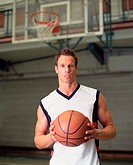 Male basketball player