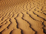 Sand patterns, Death Valley dunes, CA, USA