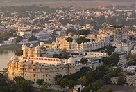 Old Udaipur and City Palace, Udaipur, Rajasthan, India