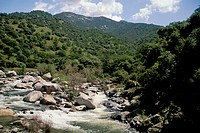 Kaweah River in spring, in the Sierra Foothills, near Three Rivers, Tulare County, California