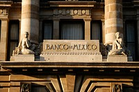 Bank of Mexico, old town Mexico City. Mexico