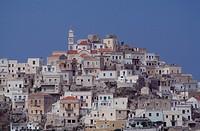 Karpathos, Hauptort Olympos/ Übersicht