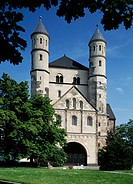 Sankt Pantaleon church, romanesque; Cologne, North Rhine-Westphalia, Germany