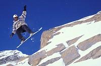 snow board, macugnaga, italy