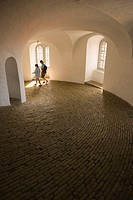Interior of the Rundetarn showing ramp, Copenhagen, Denmark