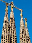 Sagrada Familia temple by Gaudí, Barcelona. Catalonia, Spain