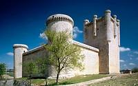 Castillo de los Comuneros, Torrelobatón. Valladolid province, Castilla-León, Spain
