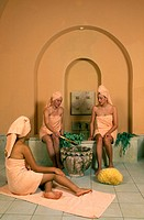 Women relaxing in a Spa resort