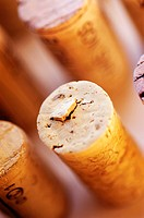 Close-up of corks