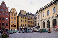 Stor Torget. Gamla Stan Island. Stockholm. Sweden.