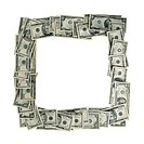 Money Picture Frame