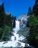 Waterfall, Yosemite National Park