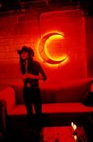 Young Woman in a Nightclub