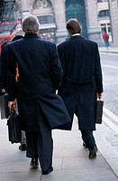 Businessmen Walking