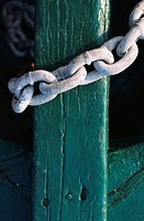 Chain Around Post