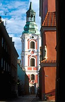 Collegiate parish church, Poznan. Poland