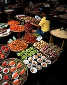 Food Market in Manila