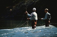 Men Fly Fishing
