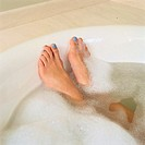 Feet in Bathtub