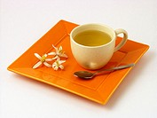 Orange blossom infusion