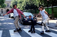 Family Inline Skating