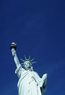Statue of Liberty, New York, USA, (Low angle view)