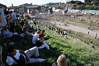 europe, italy, rome, circo massimo, live 8, july 2nd 2005