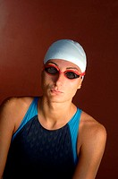 Portrait of a Female Swimmer