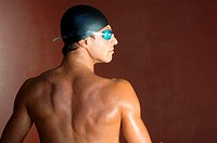 Portrait of a Male Swimmer