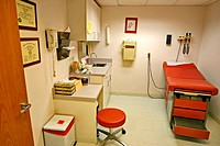 Exam room of medical facility / doctor's office