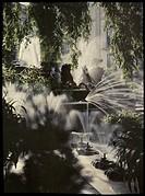 The Neptune Fountain, Cheltenham, c 1910.