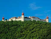 Benedictine abbey Göttweig in Lower Austria